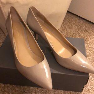 Ann Taylor Eryn2 Patent Leather Kitten Heel